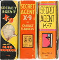Big Little Book:Miscellaneous, Big Little Book Secret Agent X-9 Related Group (Whitman, 1930s)Condition: Average FN/VF.... (Total: 3 Comic Books)