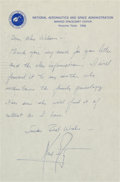 Explorers:Space Exploration, Neil Armstrong Autograph Letter Signed Regarding Family Genealogy....