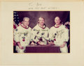 Autographs:Celebrities, Apollo-Soyuz Test Project American Crew-Signed Photo. ...