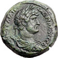 Ancients:Roman Provincial , Ancients: EGYPT. Alexandria. Hadrian (AD 117-138). Æ drachm (34mm,24.12 gm, 12h). ...