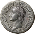 Ancients:Roman Imperial, Ancients: Tiberius (AD 14-37). Æ as (31mm, 10.56 gm, 6h). ...
