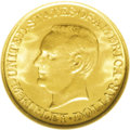 Commemorative Gold: , 1917 G$1 McKinley MS65 NGC. None of the classic commemorative goldpieces can really be considered common in high grades, a...