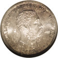 Coins of Hawaii: , 1883 25C Hawaii Quarter MS66 NGC. Breen-8033. The first 8 in thedate is clearly repunched within the loops. Breen believed...