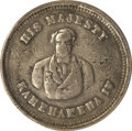Coins of Hawaii: , Undated (1855-1860) Hawaii-Waterhouse Token VF30 PCGS. Medcalf2TE1. Struck in soft, white metal, similar to pewter or plumb...