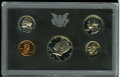 Proof Sets: , Uncertified 1971 10C No S Nickel Proof Set. The proof 1971 No S nickel grades PR67 Deep Cameo, and resides in the original ... (Total: 5 Coins)