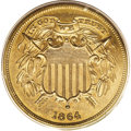 1864 2C Small Motto PR62 Red and Brown PCGS. Offered here is a landmark coin with a rarity and desirability that cannot...
