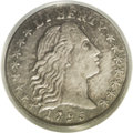 Early Half Dimes: , 1795 H10C MS62 PCGS. V-6, LM-9, R.4. Star 1 has points betweencurls 2 and 3, the L in LIBERTY is low, and IB are far apart...