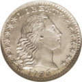 Early Half Dimes: , 1795 H10C MS67 ★ NGC. V-8, LM-7, R.6. This is a rare die variety,although at least two Super...
