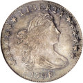 Early Dimes: , 1798 10C Large 8 MS64 NGC. JR-4, R.3. This variety is called Small7, Medium 8 in the John Reich Society dimes reference. T...