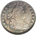 Early Dimes: , 1798 10C Large 8 MS64 NGC. JR-4, R.3. This variety is easilyattributed by the flat topped 1 in the date, and 5 berries on ...