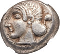 Ancients:Greek, Ancients: Spintaza (later 5th century BC). AR stater (19mm, 9.71 gm, 6h)....