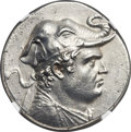 Ancients:Greek, Ancients: Demetrius I (ca. 200-185 BC). AR tetradrachm (33mm, 17.02 gm, 12h). ...
