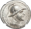 Ancients:Greek, Ancients: Eucratides I the Great (ca. 170-145 BC). AR tetradrachm (35.5mm, 16.88 gm, 12h).  ...
