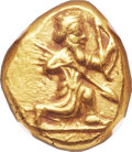 Ancients:Greek, Ancients: Time of Darius I - Xerxes II (ca. 485-420 BC). AV daric(18mm, 8.31 gm). ...