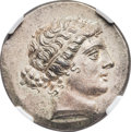 Ancients:Greek, Ancients: Cyme. Ca. 155-145 BC. AR tetradrachm (30mm, 16.78 gm, 11h).  ...