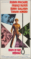 """Movie Posters:War, Man in the Middle (20th Century Fox, 1964). Three Sheet (41"""" X78""""). War.. ..."""