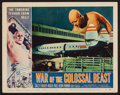 "Movie Posters:Science Fiction, War of the Colossal Beast (American International, 1958). LobbyCard (11"" X 14""). Science Fiction.. ..."