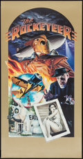 "Movie Posters:Action, The Rocketeer by Dave Stevens (Walt Disney Pictures, 1991). Deluxe Print (20.25"" X 39""). Action.. ..."