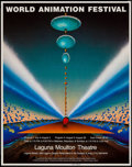 """Movie Posters:Animation, World Animation Festival (World Animation Society,1983). Autographed Poster (19"""" X 24.5""""). Animation.. ..."""