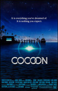 "Movie Posters:Drama, Cocoon (20th Century Fox, 1985). Autographed One Sheet (27"" X 41""). Drama.. ..."
