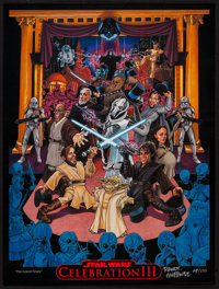 Star Wars Convention Poster (Randy Martinez, 2005). Autographed, Limited Edition Star Wars Celebration III, Convention...