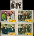 "Movie Posters:Adventure, Wake of the Red Witch & Other Lot (Republic, 1949). Lobby Cards(4) (11"" X 14"") & Photo (8"" X 10""). Adventure.. ... (Total: 5Items)"