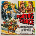 "Movie Posters:Sports, The Fighting Chance (Republic, 1955). Six Sheet (81"" X 81""). Sports.. ..."