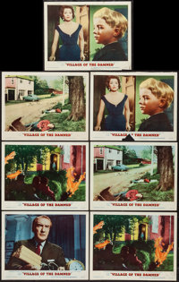 "Village of the Damned (MGM, 1960). Lobby Cards (7) (11"" X 14""). Science Fiction. ... (Total: 7 Items)"