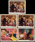 "Movie Posters:Mystery, Voice of the Whistler (Columbia, 1945). Title Lobby Card and LobbyCards (4) (11"" X 14""). Mystery.. ... (Total: 5 Items)"