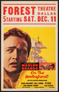 "Movie Posters:Academy Award Winners, On the Waterfront (Columbia, 1954). Window Card (14"" X 22"").Academy Award Winners.. ..."