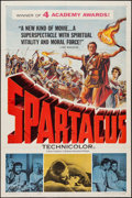 """Movie Posters:Action, Spartacus (Universal International, 1961). One Sheet (27"""" X 41"""") Academy Award Style. Action.. ..."""