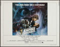 "Movie Posters:Science Fiction, The Empire Strikes Back (20th Century Fox, 1980). Half Sheet (22"" X28""). Science Fiction.. ..."