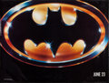 """Movie Posters:Action, Batman (Warner Brothers, 1989). Subway (44.5"""" X 59"""") Advance.Action.. ..."""