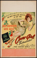 "Movie Posters:Musical, Cover Girl (Columbia, 1944). Window Card (14"" X 22""). Musical.. ..."