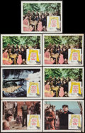 "Movie Posters:War, The Guns of Navarone (Columbia, 1961). Lobby Cards (7) (11"" X 14"").War.. ... (Total: 7 Items)"