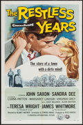 "Movie Posters:Drama, The Restless Years (Universal International, 1958). One Sheet (27"" X 41""). Drama.. ..."