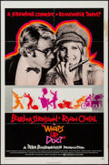 "Movie Posters:Comedy, What's Up, Doc? (Warner Brothers, 1972). One Sheet (27"" X 41"")Style B. Comedy.. ..."