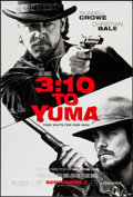 "Movie Posters:Western, 3:10 to Yuma (Lions Gate, 2007). One Sheet (27"" X 40"") Advance, DS. Western.. ..."