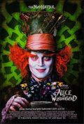 "Movie Posters:Fantasy, Alice in Wonderland (Walt Disney Pictures, 2010). One Sheet (27"" X40"") Advance, DS. Fantasy.. ..."
