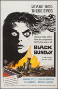 "Movie Posters:Horror, Black Sunday (American International, 1961). One Sheet (27"" X 41""). Horror.. ..."