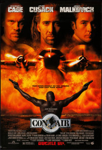 "Con Air (Buena Vista, 1997). One Sheet (27"" X 40"") DS. Action"