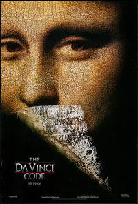 "The Da Vinci Code and Other Lot (Columbia, 2006). One Sheets (2) (27"" X 40"") Advance, DS. Thriller. ... (Total..."