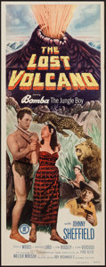 "Movie Posters:Adventure, The Lost Volcano (Monogram, 1950). Insert (14"" X 36""). Adventure....."