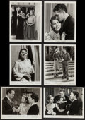 "Movie Posters:Hitchcock, Rebecca (United Artists, 1940, R-1946, & R-1979). Photos (9)(7.5"" X 10"" & 8"" X 10"") & Television Photo (8"" X 10"").Hitchcoc... (Total: 10 Items)"