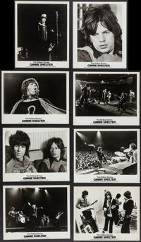 """Gimme Shelter (20th Century Fox, 1970). Photos (16) (8"""" X 10""""). Rock and Roll. ... (Total: 16 Items)"""