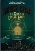 Books:Science Fiction & Fantasy, Arthur C. Clarke. SIGNED. The Songs of Distant Earth. Del Rey, 1986. First edition, first printing. Signed bookplate laid ...