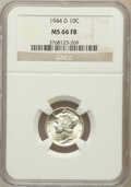Mercury Dimes: , 1944-D 10C MS66 Full Bands NGC. NGC Census: (2756/1262). PCGSPopulation (3765/1264). Mintage: 62,224,000. Numismedia Wsl. ...