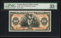 Canadian Currency: , Montreal, PQ- Barclays Bank (Canada) $10 Jan. 2, 1935 Ch. #30-12-06. ...