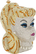 Luxury Accessories:Bags, Katherine Baumann Full Bead Multicolor Crystal & Pearl BarbieMinaudiere Evening Bag. ...