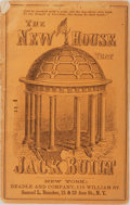 Books:Americana & American History, L. Whitehead, Sr. The New House That Jack Built. An OriginalAmerican Version. Beadle and Company, 1865. Publish...